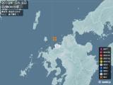 2013年05月06日22時06分頃発生した地震