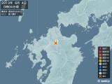 2013年06月04日00時04分頃発生した地震