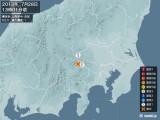 2013年07月28日13時01分頃発生した地震