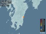 2013年08月06日18時33分頃発生した地震
