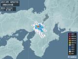 2013年08月27日03時42分頃発生した地震