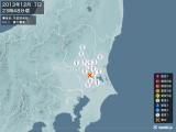 2013年12月07日23時48分頃発生した地震