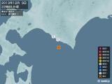 2013年12月09日22時51分頃発生した地震