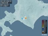 2013年12月21日23時45分頃発生した地震