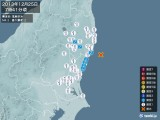 2013年12月25日07時41分頃発生した地震