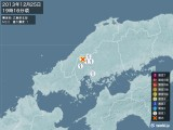 2013年12月25日19時16分頃発生した地震