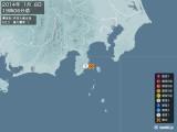 2014年01月08日19時06分頃発生した地震