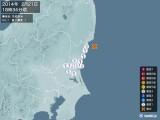 2014年02月21日18時34分頃発生した地震