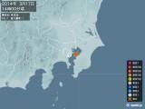 2014年03月17日14時00分頃発生した地震