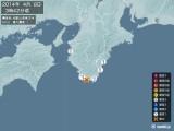 2014年04月08日03時42分頃発生した地震