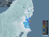 2014年04月25日08時43分頃発生した地震
