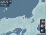 2014年05月01日22時20分頃発生した地震