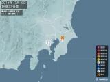 2014年07月09日19時23分頃発生した地震