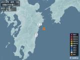 2014年08月01日06時47分頃発生した地震