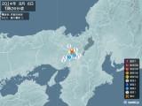 2014年08月06日01時26分頃発生した地震