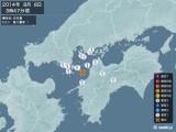 2014年08月08日03時47分頃発生した地震