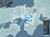 2014年08月26日03時42分頃発生した地震