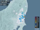 2014年08月29日13時05分頃発生した地震