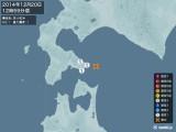2014年12月20日12時59分頃発生した地震