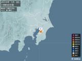2015年01月03日19時56分頃発生した地震