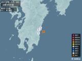 2015年01月09日04時33分頃発生した地震