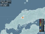 2015年01月21日03時14分頃発生した地震