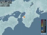2015年01月27日03時54分頃発生した地震