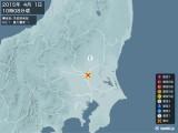 2015年04月01日10時08分頃発生した地震