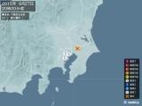 2015年06月27日20時20分頃発生した地震