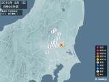 2015年08月01日08時44分頃発生した地震