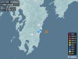 2015年08月28日10時12分頃発生した地震