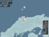 2015年10月27日03時16分頃発生した地震