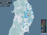 2015年12月26日01時42分頃発生した地震