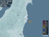 2016年03月22日18時46分頃発生した地震