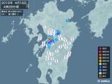 2016年04月16日04時28分頃発生した地震