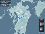 2016年04月20日15時28分頃発生した地震