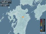 2016年04月27日04時01分頃発生した地震