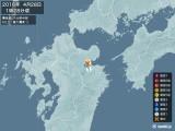 2016年04月28日01時28分頃発生した地震