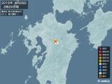 2016年04月28日02時24分頃発生した地震