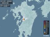 2016年04月28日04時36分頃発生した地震