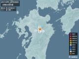 2016年04月28日04時44分頃発生した地震