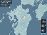 2016年04月28日09時01分頃発生した地震
