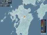 2016年04月28日18時44分頃発生した地震
