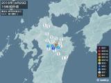 2016年04月29日15時30分頃発生した地震
