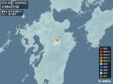 2016年04月29日16時42分頃発生した地震