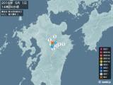 2016年05月01日14時24分頃発生した地震