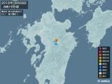 2016年06月28日08時15分頃発生した地震