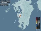 2016年06月28日13時19分頃発生した地震