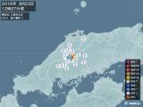 2016年08月23日12時27分頃発生した地震