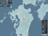 2016年09月01日19時05分頃発生した地震